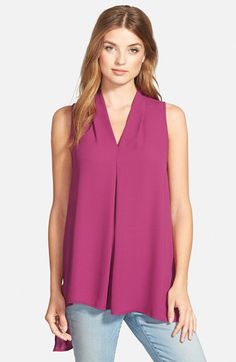 Check out my latest find from Nordstrom: http://shop.nordstrom.com/S/4034376  Pleione Pleione Pleat V-Neck Sleeveless High/Low Blouse  - Sent from the Nordstrom app on my iPhone (Get it free on the App Store at http://itunes.apple.com/us/app/nordstrom/id474349412?ls=1&mt=8)