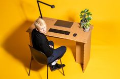 More and more people are being asked to stay home during the COVID-19 pandemic, but how many of those homes have a workspace where these individuals can still get their job done? Danish furniture startup Stykka has the solution, the StayTheF***Home Desk. You'll also like: […]Visit Man of Many for the full post. Home Desk, Home Office, Cardboard Recycling Bins, Home Instead, Masculine Interior, Danish Furniture, Rustic Furniture, Ping Pong Table, Danish Design