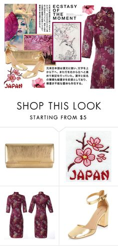 """""""Dream of Japan...."""" by samketina ❤ liked on Polyvore featuring Marc, Jimmy Choo, New Look and Hedi Slimane"""