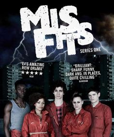 BBC - Misfits - great show, great music you should get into it.  #misstheoriginalcast