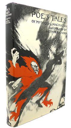 POE'S TALES OF MYSTERY & IMAGINATION, Edgar Allan Poe, Arthur Rackham (Illustration)