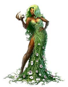 Fey Eldest - The Green Mother - The Feasting Flower - Pathfinder PFRPG DND D&D d20 fantasy