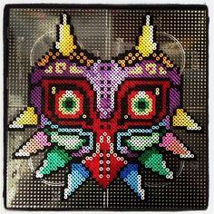 Majora´s Mask Zelda hama perler beads by theshadowgirl