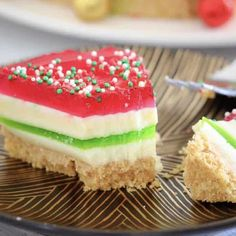 Christmas Jelly Cake