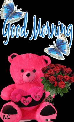 ⚘ Anita Cruz ⚘ Good Morning Love Gif, Good Morning Beautiful Pictures, Cute Good Night, Good Night Gif, Good Morning Flowers, Good Morning Wishes, Good Morning Boyfriend Quotes, Good Morning Image Quotes, Good Morning Images Hd