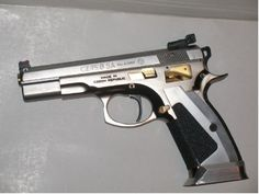 CZ 75b Custom - um wow  Phillip Michael's Interpretation: awesome wicked cool exotic flying-object fire weapons gun guns pistol 2nd-ammendment rights protection defense