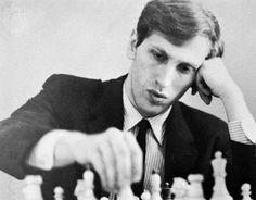 Bobby Fischer IQ: 187 Fischer Bobb, an American chess master who became the youngest grandmaster in history when he received the title in 1958. His youthful intemperance and brilliant playing drew the attention of the American public to the game of chess, particularly when he world championship in 1972 defeating Boris Spassky of the Soviet Union.