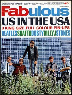 The ANIMALS in America - FABULOUS - NOVEMBER 28, 1964 - 1960s MUSIC MAGAZINES 60s Icons, Music Magazines, Vintage Music, Tv On The Radio, Picture Design, Continue Reading, Vinyl Records, Ephemera, 1960s