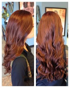Brown Red Hair Color