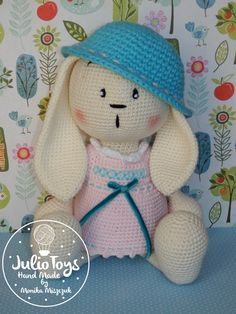 Bunny Girl crochet toy PDF pattern by Julio Toys https://www.etsy.com/listing/267761625/bunny-girl-pdf-pattern?ref=shop_home_active_1