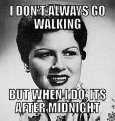 "Patsy Cline ""Walkin' After Midnight"""