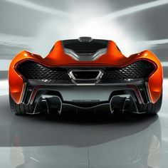 Beautiful Backend of the McLaren P1
