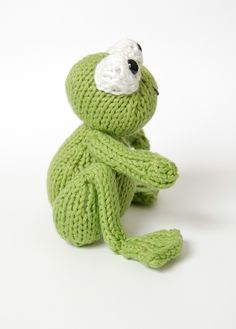 PDF Knitting Pattern for Frog Prince | Knitting patterns ...