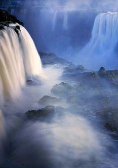 """ Waterfalls in Plitvice Lakes National Park, Croatia."