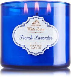 French Lavender 3-Wick Candle - Home Fragrance 1037181 - Bath & Body Works