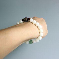 Tibetan Buddhist Mala Handmade Lotus Charm Bodhi Beads Bracelets for Women | eBay
