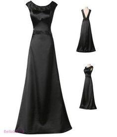 Maturitní/plesové šaty dlouhé černé