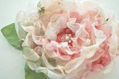 organza flower # Pinterest++ for iPad #