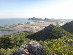 Khao Dang View Point, Prachuap Khiri khan Province, Thailand - just over 1 hour by road south of Hua Hin