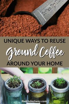 Diy Household Tips 184647653458413986 - How to reuse coffee grounds around your home. Tried and tested ways to utilise used coffee grounds! Source by jamieharrington