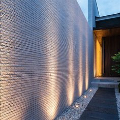 Intelligent established porch design modern you can try this out Facade Lighting, Exterior Lighting, Outdoor Lighting, Lighting Ideas, Modern Landscaping, Outdoor Landscaping, Exterior Wall Light, Building A Porch, House With Porch