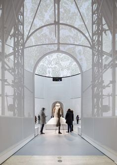 """Preview OMA's Installation for Met Museum Exhibition """"Manus x Machina"""", © Albert Vecerka and OMA"""