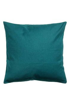 Cotton cushion cover: Cushion cover in cotton canvas with a concealed zip.
