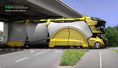 The Bionic Chameleon Truck » Yanko Design