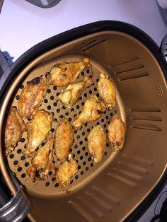 Air Fryer From Frozen Chicken Thighs Cooks Essentials Airfryer Youtube Chicken Drumsticks