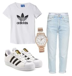 """""""Untitled #230"""" by kingrabia on Polyvore featuring Calvin Klein Underwear, M.i.h Jeans, adidas, adidas Originals and Tommy Hilfiger"""