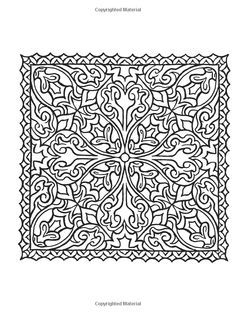 Creative Haven Square Mandalas Coloring Book Books Alberta Hutchinson
