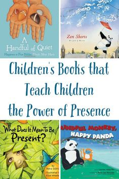 Life is so fast paced, slowing down is more & more difficult. Teach kids with these 6 Beautiful Children's Books to Teach Emotions & the Power of Presence! Teaching Mindfulness, Mindfulness For Kids, Mindfulness Activities, Teaching Kids, Kids Learning, Emotional Child, Learning Cards, Character Education, Yoga For Kids