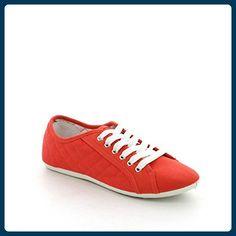 by swan, Damen Sneaker  Rot rot 37 - Sneakers für frauen (*Partner-Link)