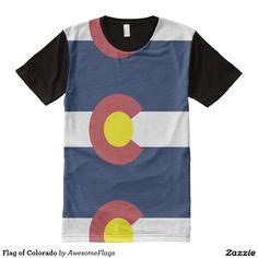 Flag of Colorado All-Over Print T-Shirt