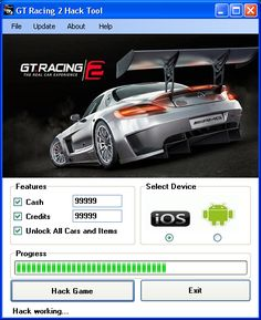 GT Racing 2 Hack Tool Download Today we introduce to you the 100% working GT Racing 2 Hack Tool which add unlimited Cash,Credits and Unlock All Cars and Items to your devices application in just on…