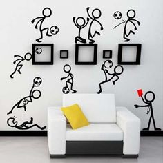 Creative 3D Cats Dogs And Mouse Wall Stickers For Living Room Bedroom Decor Kw