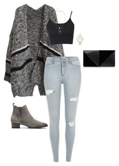 casual, daily outfit. by d-jiang on Polyvore featuring polyvore, fashion, style, Topshop, UN United Nude, Sole Society and clothing