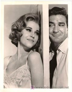 Jane Fonda & Rod Taylor; Sunday in New York (1963). This is a ridiculously fun movie.