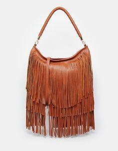 Image 1 ofASOS Fringe Shoulder Bag
