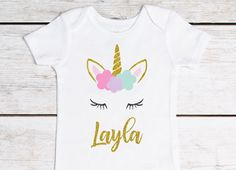 Unicorn Birthday First Birthday Outfit 1st Birthday Outfit