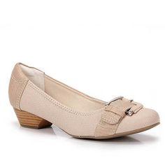 Sapato Feminino Usaflex J2103t - Areia