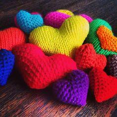 Corazones de colores!!