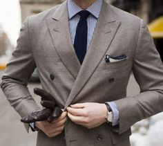 Love the textured tie and pocket square