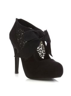 Black heels from Miss Selfridge