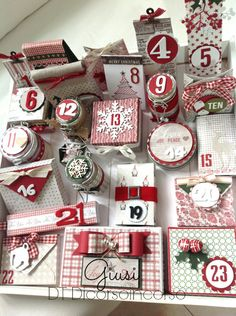 Woodland Ornament Advent Calendar - countdown to christmas Christmas Mood, Noel Christmas, Christmas Countdown, Christmas Projects, All Things Christmas, Advent Calendar Boxes, Homemade Advent Calendars, Advent Calenders, Jingle All The Way