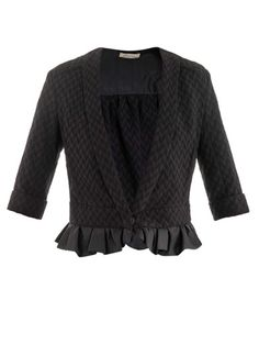 Frill hem tweed jacket | Nina Ricci | MATCHESFASHION.COM