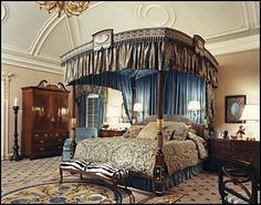 green bedroom canopy - Google Search