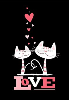 2 Cats in Love by Lisa Marie Robinson