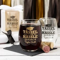Personalized Party Stemless Wine Glass