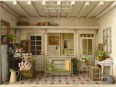 * ♥ Lea Workshop - Een dag in de campagne ♥ *: Flower Shop (2013 Version - vervolg) ─ De gevel en de naam